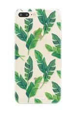FOONCASE Iphone 7 Plus Handyhülle - Bananenblätter