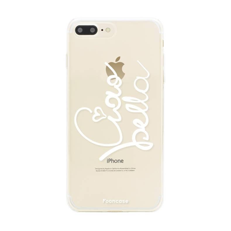 FOONCASE Iphone 7 Plus Handyhülle - Ciao Bella!