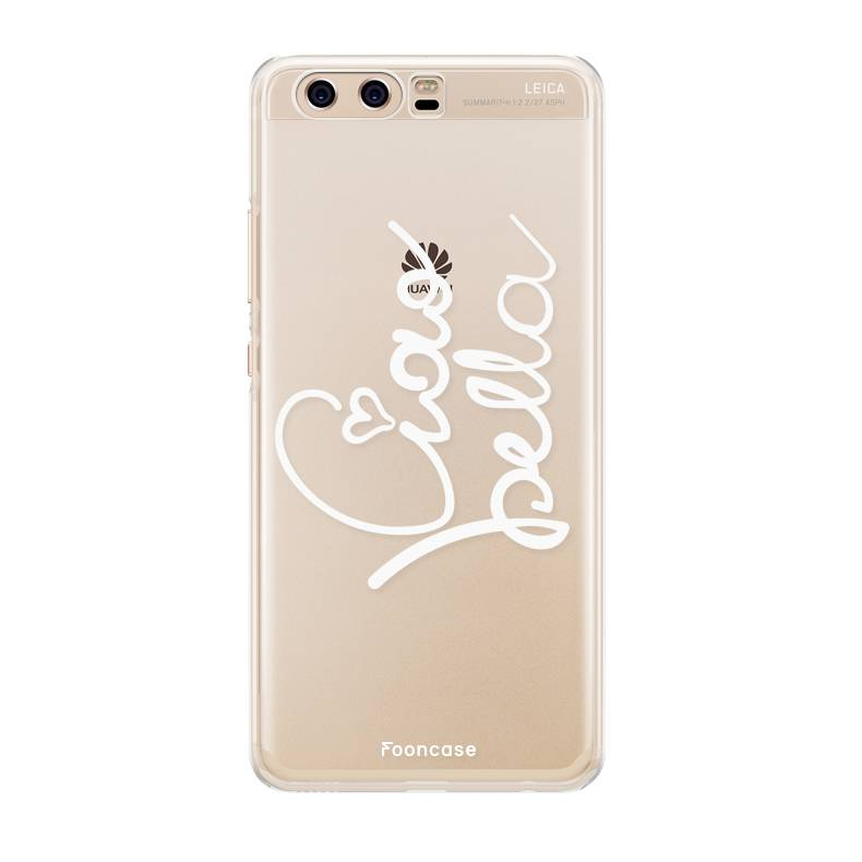FOONCASE Huawei P10 hoesje TPU Soft Case - Back Cover - Ciao Bella!