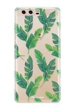 FOONCASE Huawei P10 Handyhülle - Bananenblätter