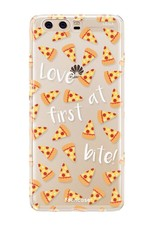 FOONCASE Huawei P10 hoesje TPU Soft Case - Back Cover - Pizza / Food