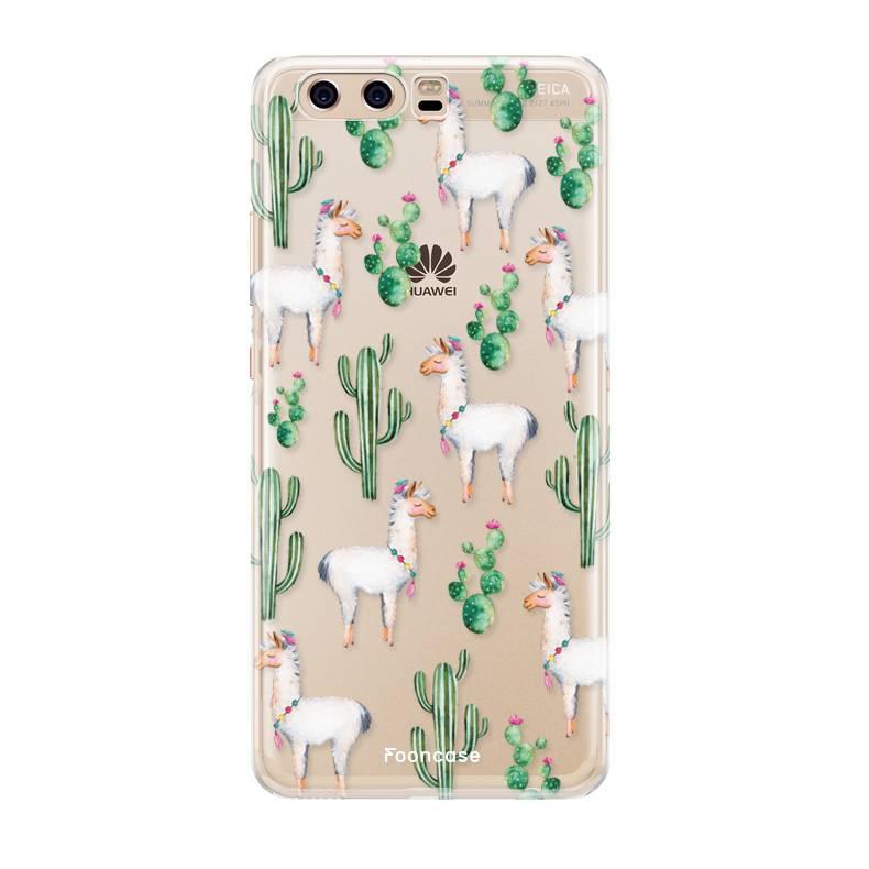 Huawei Huawei P10 hoesje - Alpaca