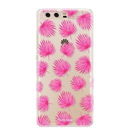 FOONCASE Huawei P10 - Pink leaves