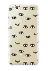 FOONCASE Huawei P10 Lite hoesje TPU Soft Case - Back Cover - Eyes / Ogen