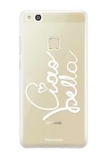 FOONCASE Huawei P10 Lite hoesje TPU Soft Case - Back Cover - Ciao Bella!