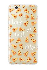 FOONCASE Huawei P10 Lite hoesje TPU Soft Case - Back Cover - Pizza / Food