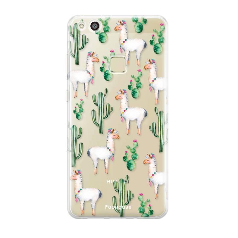 Huawei Huawei P10 Lite hoesje - Alpaca