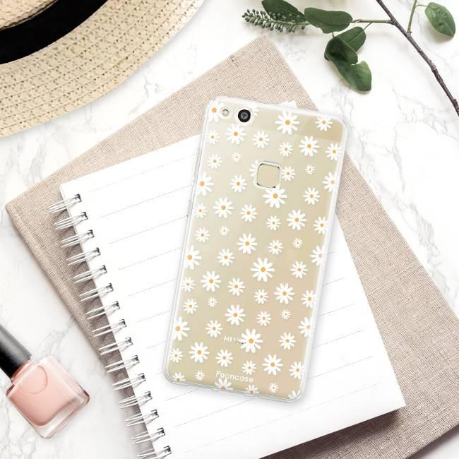 FOONCASE Huawei P10 Lite Handyhülle - Gänseblümchen
