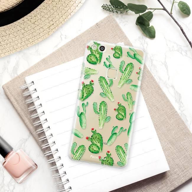 FOONCASE Huawei P10 Lite Cover - Cactus