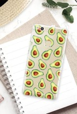 FOONCASE Huawei P10 Lite hoesje TPU Soft Case - Back Cover - Avocado