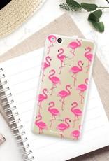 Huawei Huawei P10 Lite hoesje - Flamingo