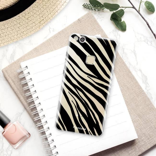 Huawei Huawei P10 Lite hoesje - Zebra