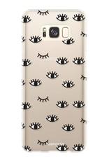 FOONCASE Samsung Galaxy S8 Handyhülle - Eyes