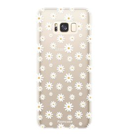 FOONCASE Samsung Galaxy S8 - Madeliefjes
