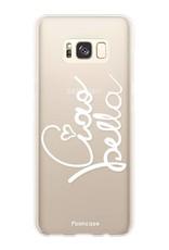 FOONCASE Samsung Galaxy S8 hoesje TPU Soft Case - Back Cover - Ciao Bella!