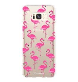 FOONCASE Samsung Galaxy S8 - Flamingo