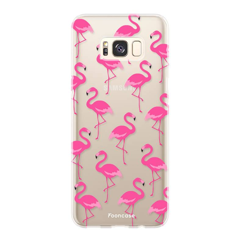 buy popular fe3d0 89130 FOONCASE   Flamingo phone case   Samsung S8