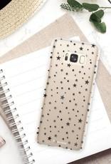 FOONCASE Samsung Galaxy S8 hoesje TPU Soft Case - Back Cover -  Stars / Sterretjes