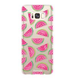 FOONCASE Samsung Galaxy S8 - Watermeloen