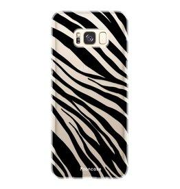 FOONCASE Samsung Galaxy S8 - Zebra