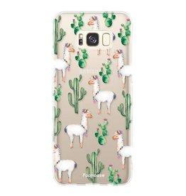 FOONCASE Samsung Galaxy S8 - Lama
