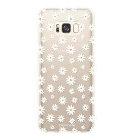 FOONCASE Samsung Galaxy S8 Plus - Madeliefjes