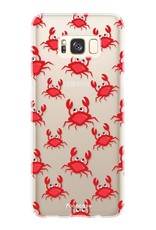 FOONCASE Samsung Galaxy S8 Plus Handyhülle - Krabben
