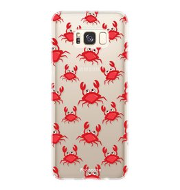 FOONCASE Samsung Galaxy S8 Plus - Crabs