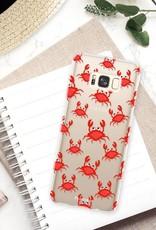 FOONCASE Samsung Galaxy S8 Plus hoesje TPU Soft Case - Back Cover - Crabs / Krabbetjes / Krabben