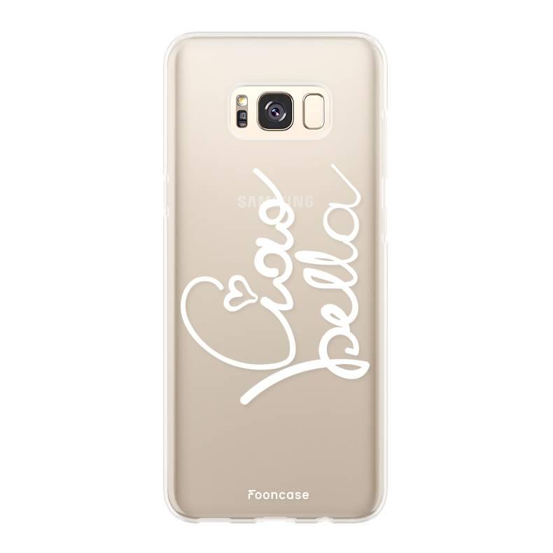 FOONCASE Samsung Galaxy S8 Plus hoesje TPU Soft Case - Back Cover - Ciao Bella!
