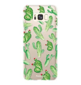 FOONCASE Samsung Galaxy S8 Plus - Kaktus