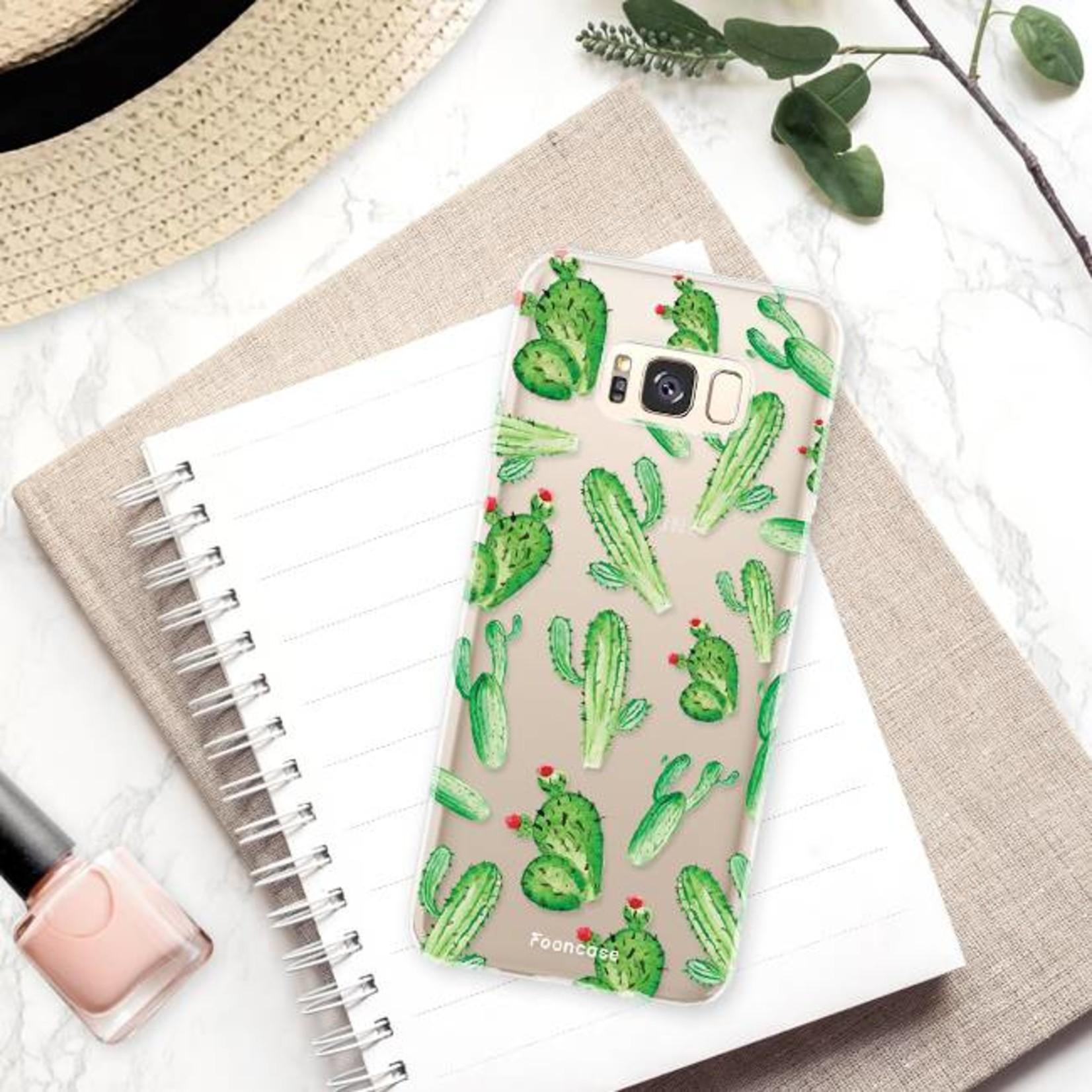 FOONCASE Samsung Galaxy S8 Plus Handyhülle - Kaktus