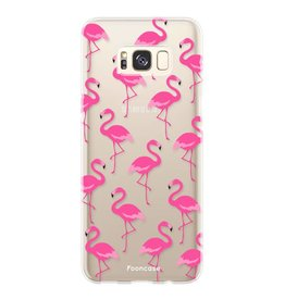 FOONCASE Samsung Galaxy S8 Plus - Flamingo
