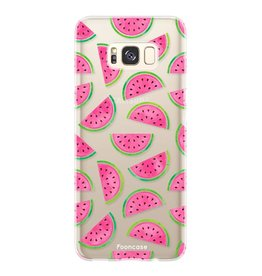 FOONCASE Samsung Galaxy S8 Plus - Watermeloen