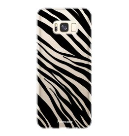 FOONCASE Samsung Galaxy S8 Plus - Zebra