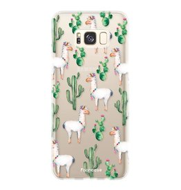 FOONCASE Samsung Galaxy S8 Plus - Lama