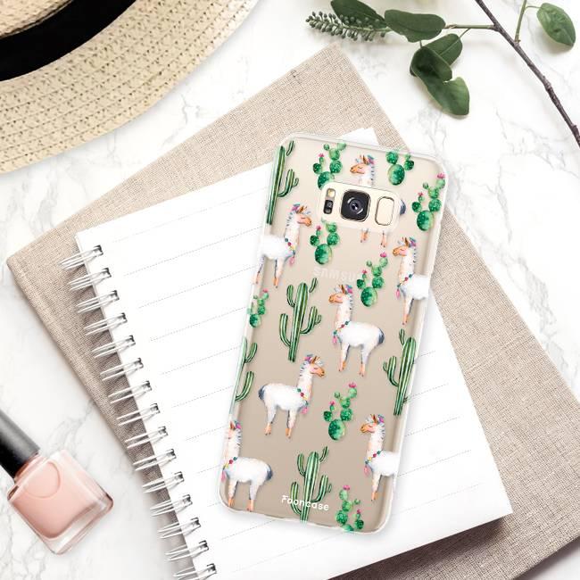 FOONCASE Samsung Galaxy S8 Plus Handyhülle - Lama