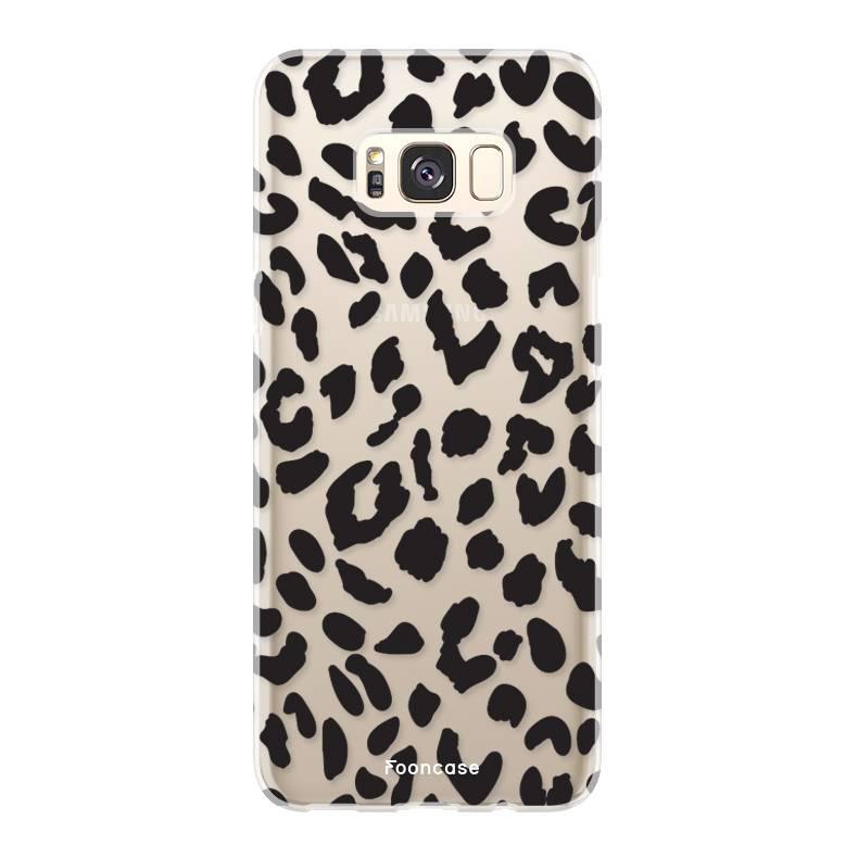 FOONCASE Samsung Galaxy S8 Plus Handyhülle - Leopard