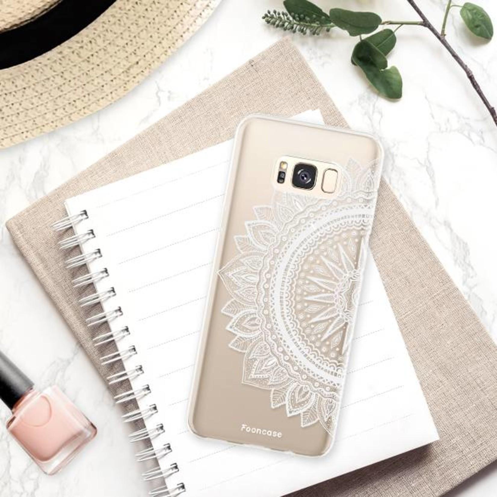 FOONCASE Samsung Galaxy S8 Plus hoesje TPU Soft Case - Back Cover - Mandala / Ibiza