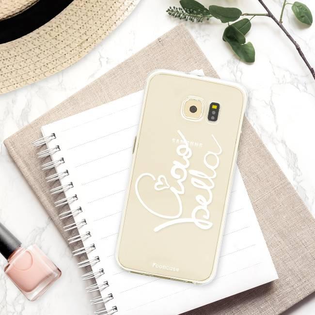 FOONCASE Samsung Galaxy S6 hoesje TPU Soft Case - Back Cover - Ciao Bella!