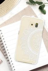 FOONCASE Samsung Galaxy S6 Edge hoesje TPU Soft Case - Back Cover - Mandala / Ibiza