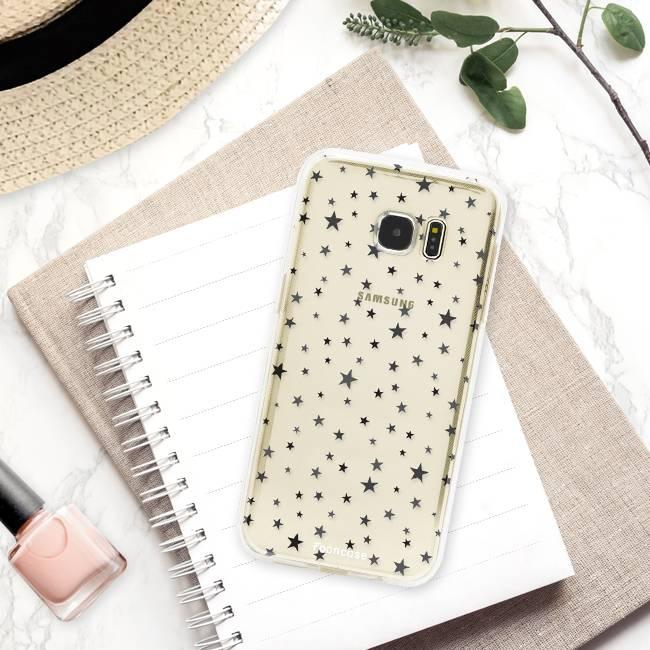 FOONCASE Samsung Galaxy S7 Edge Handyhülle - Sterne