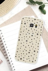 FOONCASE Samsung Galaxy S7 hoesje TPU Soft Case - Back Cover - Stars / Sterretjes