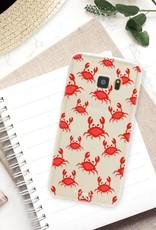 FOONCASE Samsung Galaxy S7 hoesje TPU Soft Case - Back Cover - Crabs / Krabbetjes / Krabben