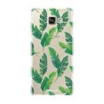 FOONCASE Samsung Galaxy A3 2016 - Banana leaves