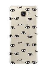 FOONCASE Samsung Galaxy A3 2017 Handyhülle - Eyes