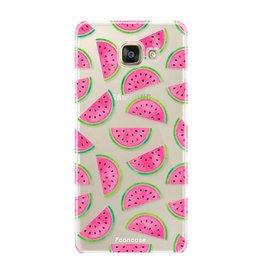 FOONCASE Samsung Galaxy A3 2016 - Watermeloen