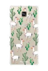 FOONCASE Samsung Galaxy A3 2016 Handyhülle - Lama