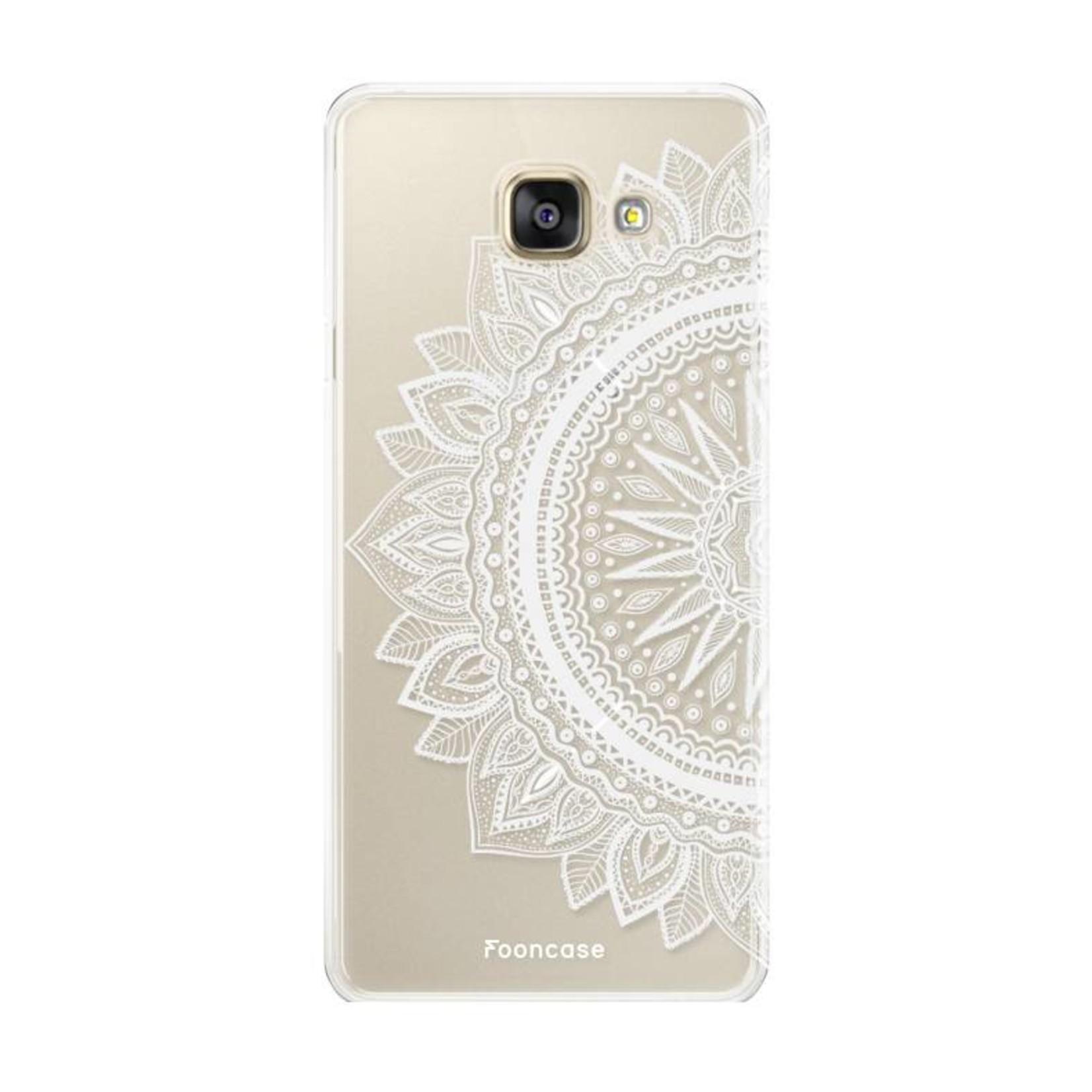 FOONCASE Samsung Galaxy A3 2016 hoesje TPU Soft Case - Back Cover - Mandala / Ibiza