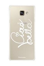 FOONCASE Samsung Galaxy A3 2017 hoesje TPU Soft Case - Back Cover - Ciao Bella
